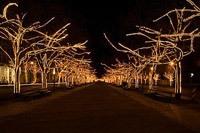 Подключение освещения зданий в Рязани